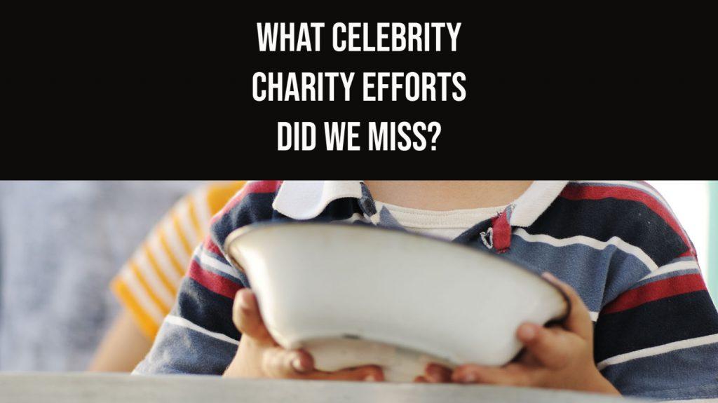 celeb charity